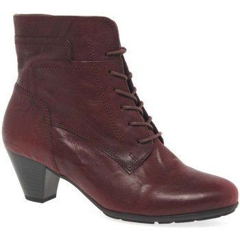 Shoes Women Mid boots Gabor National Womens Ankle Boots red