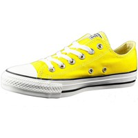 Shoes Boy Low top trainers Converse CT OX Yellow-Black-White