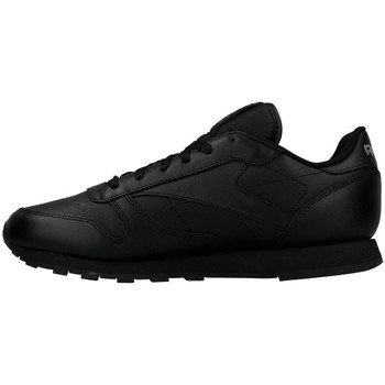 Shoes Women Low top trainers Reebok Sport CL Lthr Black
