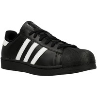 Shoes Men Low top trainers adidas Originals Superstar Foundation Black-White