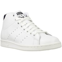 Shoes Men Hi top trainers adidas Originals Stan Smith Mid White