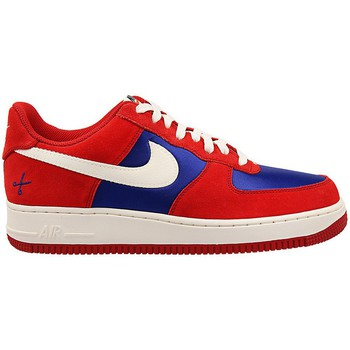 Shoes Men Low top trainers Nike Air Force 1 Red-Blue-White