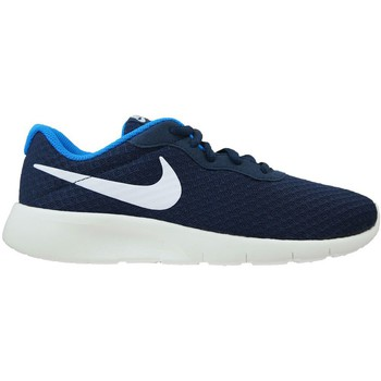 Shoes Men Low top trainers Nike Tanjun Navy blue-Blue-White