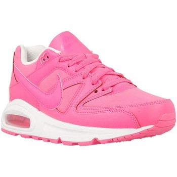Shoes Girl Low top trainers Nike Air Max Command GS White-Pink