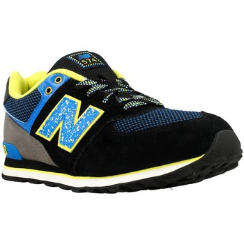 Shoes Men Low top trainers New Balance KL574O3G Yellow-Blue-Black