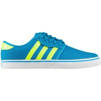 Shoes Men Low top trainers adidas Originals Seeley Yellow-White-Blue