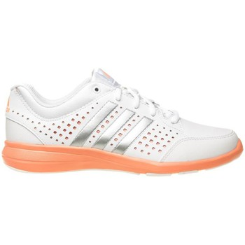 Shoes Women Low top trainers adidas Originals Arianna Iii Orange-White-Silver