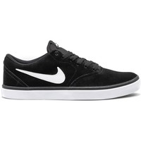 Shoes Men Low top trainers Nike SB Check Solar Black