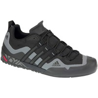 Shoes Men Low top trainers adidas Originals Terrex Swift Solo Black