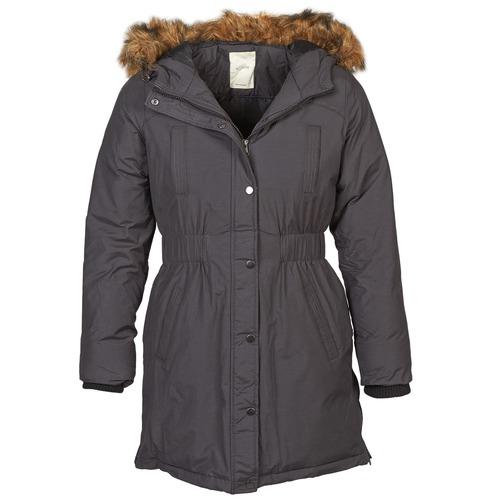 Clothing Women Parkas Nümph FROST Grey