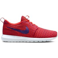 Shoes Men Low top trainers Nike Flyknit Rosherun Orange