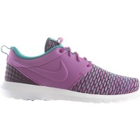 Shoes Men Low top trainers Nike Roshe NM Flyknit Prm Purple