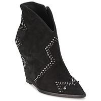 Shoes Women Ankle boots Ash JESSICA Black