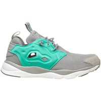Shoes Women Low top trainers Reebok Sport Furylite Asymmetrical Celadon-White-Grey