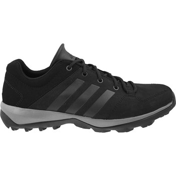 Shoes Men Low top trainers adidas Originals Daroga Plus Lea Black-Grey