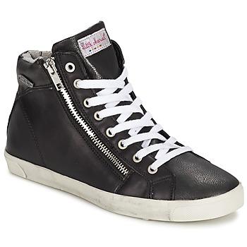 Shoes Women Hi top trainers Little Marcel PRATIK Black