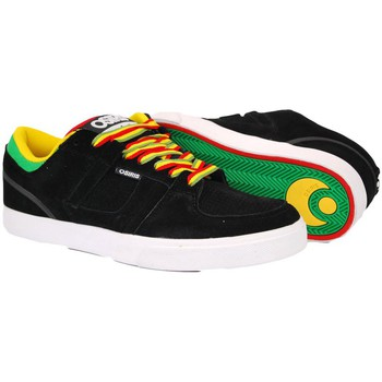 Shoes Men Low top trainers Osiris CH2 Black-White