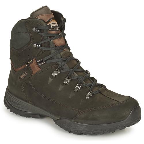 Shoes Men Walking shoes Meindl GASTEIN GTX Black / Brown