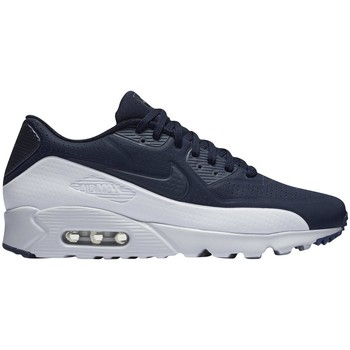 Shoes Men Low top trainers Nike Air Max 90 Ultra Moire Navy blue-White