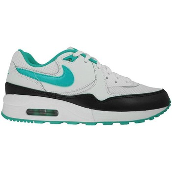 Shoes Women Low top trainers Nike Wmns Air Max Light Essential White-Black-Turquoise