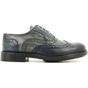 Shoes Men Brogues Rogers 4081 Lace-up heels Man Marine Marine