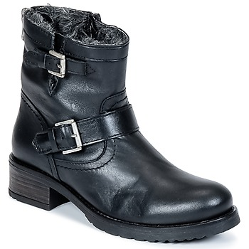 Shoes Women Mid boots Buffalo ES-30493-MEXICO Black