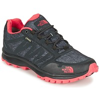 Shoes Women Walking shoes The North Face LITEWAVE FASTPACK GORETEX Black / CORAL