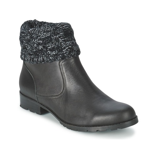 Shoes Women Mid boots Mellow Yellow RAY Black