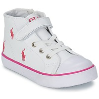 Shoes Children Hi top trainers Ralph Lauren BAL HARBOUR CAP TOE White