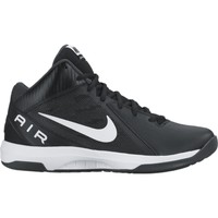 Shoes Men Low top trainers Nike The Air Overplay IX White-Black
