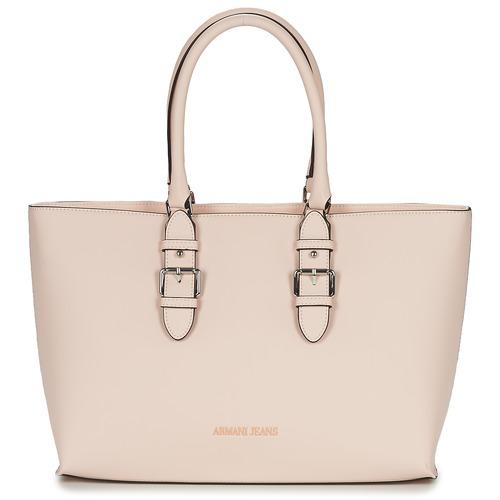 Bags Women Shopping Bags / Baskets Armani jeans TITATOU Pink / Powder