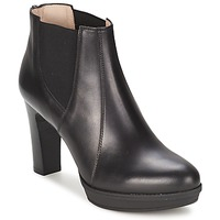 Shoes Women Ankle boots Unisa MIJAL Black