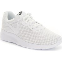 Shoes Women Low top trainers Nike Wmns Tanjun White