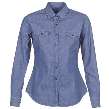 Clothing Women Shirts Yurban FERVINE Blue / MEDIUM