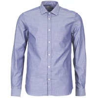 Clothing Men Long-sleeved shirts Casual Attitude FILENI Blue
