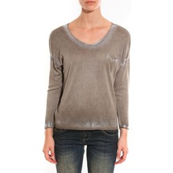 Clothing Women jumpers Barcelona Moda Pull See You Again Beige Beige