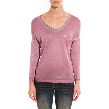 Clothing Women jumpers Barcelona Moda Pull See You Again Rose Pink