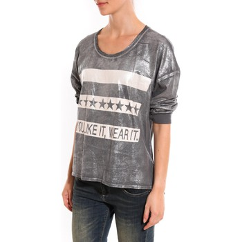 Clothing Women jumpers Dress Code Pull Mooiki Gris Grey