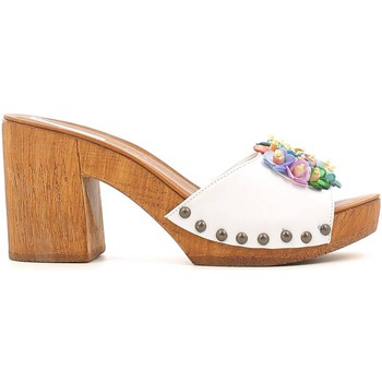 Shoes Women Clogs Grace Shoes 72100 Sandals Women Bianco Bianco