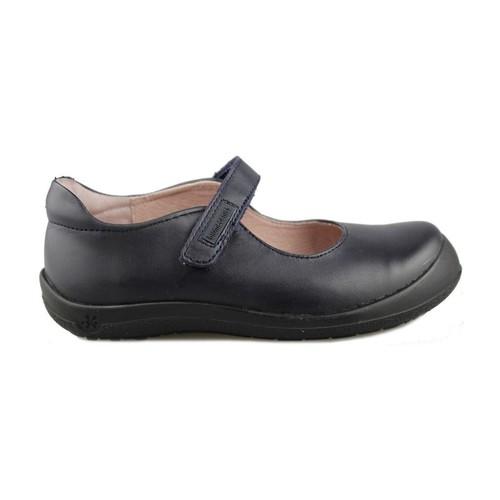 Shoes Girl Flat shoes Biomecanics COLEGIAL BERTA BLUE