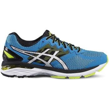 Shoes Men Low top trainers Asics GT 2000 4 Blue-Black-Yellow