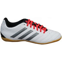 Shoes Men Low top trainers adidas Originals Goletto V IN Black-Grey-White