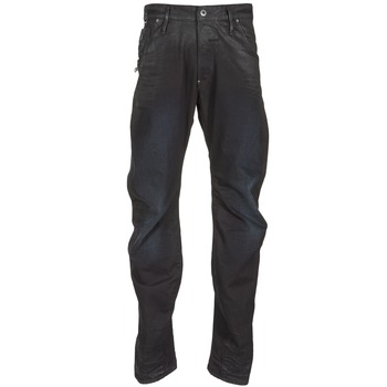 Clothing Men straight jeans G-Star Raw NEW ARC ZIP 3D Black