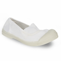 Shoes Children Flat shoes Bensimon MILONGA White