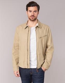 Clothing Men Jackets Aigle GADSON Beige