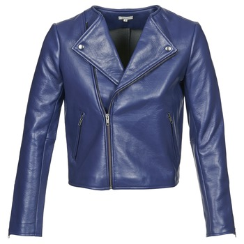 Clothing Women Jackets Manoush PERFECTO MARINE