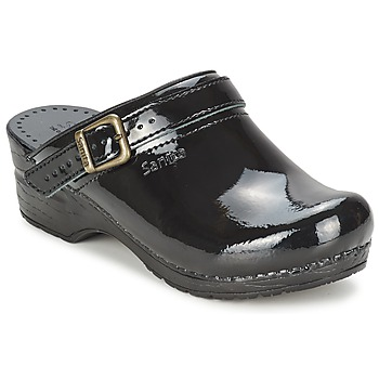 Shoes Women Clogs Sanita FREYA Black