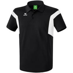 Clothing Men Short-sleeved polo shirts Erima Polo  Classic Team noir/blanc