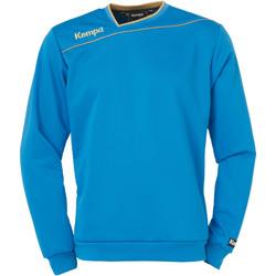 Clothing Boy Sweaters Kempa Sweat training enfant Gold bleu