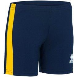 Clothing Women Shorts / Bermudas Errea Short femme  Amazon bleu marine/blanc
